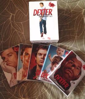 Dexter - 1ª Até 5ª Temporadas (novos / Lacrados)