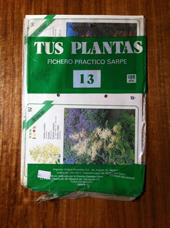Tus Plantas Fichero Practico Sarpe Nº 13 Antiguo