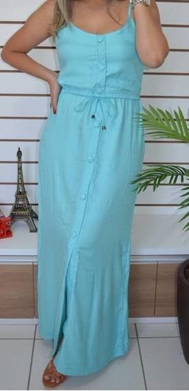 Vestido Longo De Alcinha Tam M