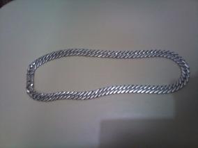 Cordão Corrente De Prata Pura Com 200 Gramas