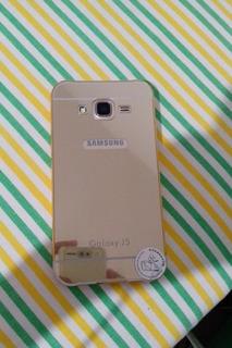 Capa Bumper Alumínio+acrilico Samsung J5 J500