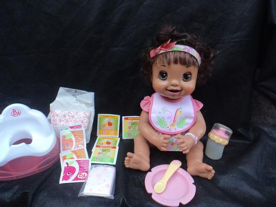 Bonecas Baby Alive Troninho Morena Português Hasbro