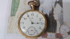 Relógio Omega De Bolso Em Ouro 18k Raríssimo De Coleção