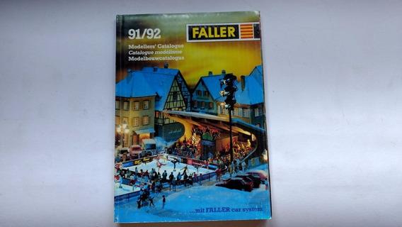 Catálogo Ferromodelismo - Faller 1991/92 Escalas Ho N Z