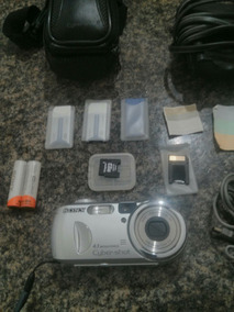 Camera Digital Sony Cyber Shot Dsc P73 Completa