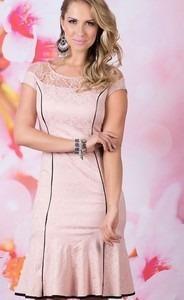 Vestido Moda Evangelica Lindo Elegante Cod#x