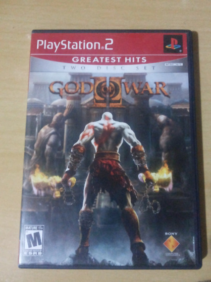 God Of War 2 Novo Ps2 Original 2 Dvd
