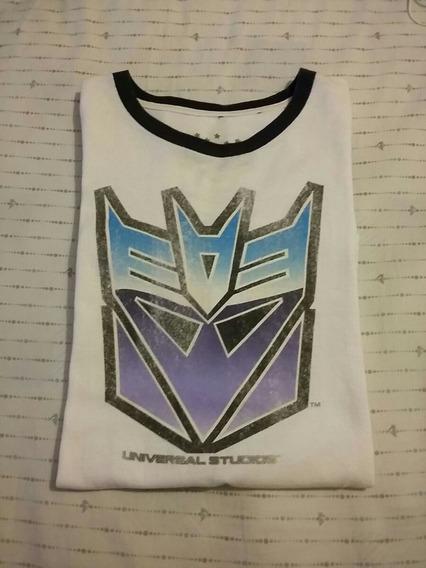 Franela Transformer Decepticons, Universal Studios, Talla M.