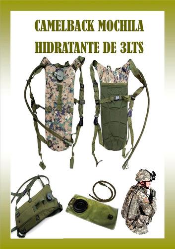 Camelback Militar Hidratante 3 Lts Camping Aventura Distrij