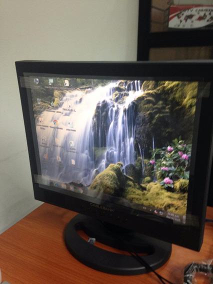 Monitor Plano 15 Pulg Lcd Nuevos Computadoras Y Cctv