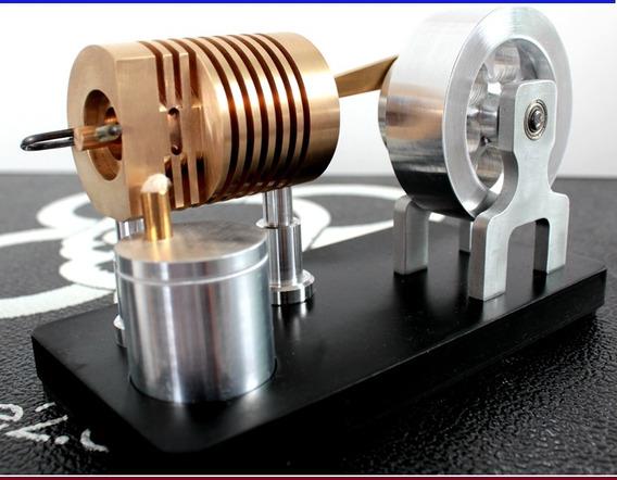 Motor Stirling Projeto Comedor De Fogo