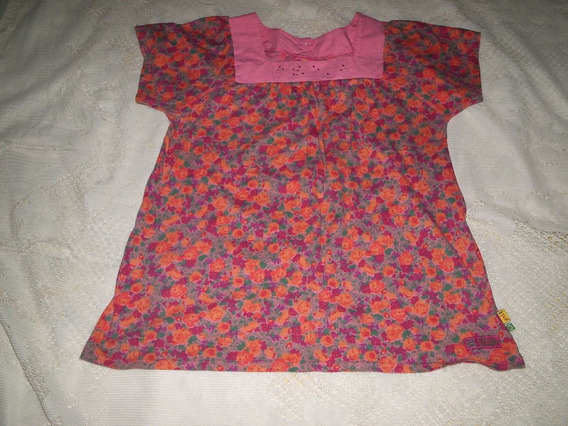 Blusa Bata Floral Tamanho P
