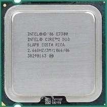 Processador Intel Lga 775 Core 2 Duo E7300 2.66ghz - Usado