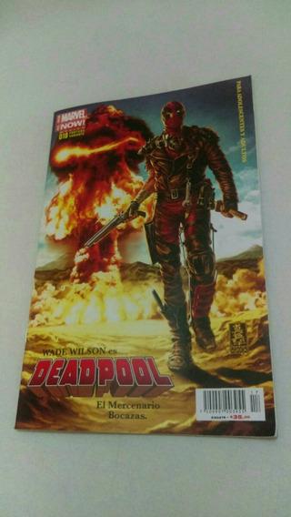 Revista Comics Marvel Now Mexico Deadpool Portada Variante