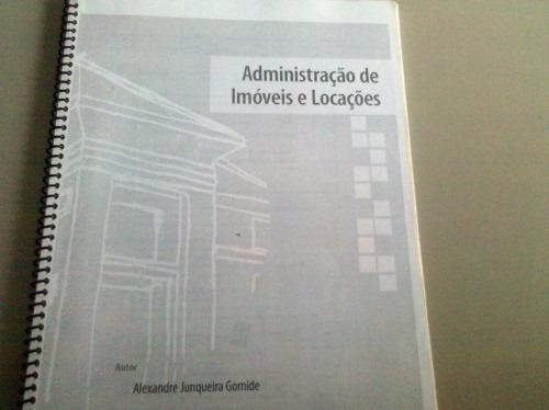 Apostila Administração De Imóveis E Locações.