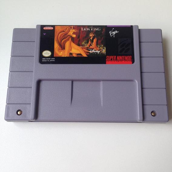 Fita The Lion King Original - O Rei Leão - Snes