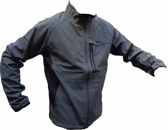 Campera Hi Tec Soft Shell Impermeable Nieve Sky Rompeviento