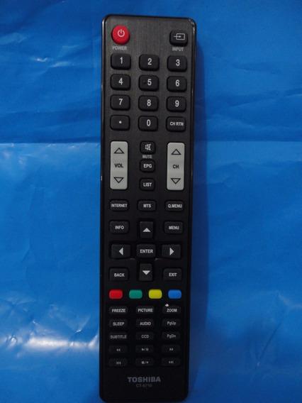 Controle Remoto Original Led Semp Toshiba Ct6710 Smart
