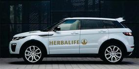 Adesivo Para Carros Herbalife Dourado Kit