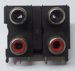 Conector Rca Para Módulos Rca De Quatro Entradas 5pçs