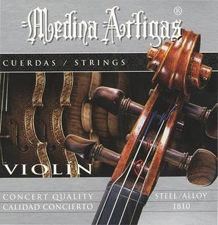 Encordado Medina Artigas 1810 Violin Calidad Concierto Nuevo