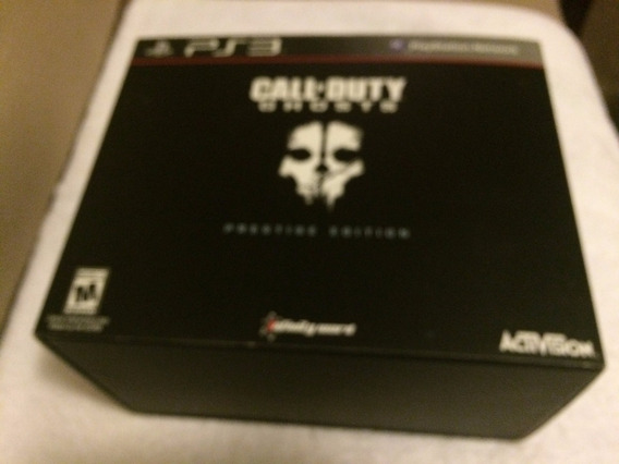 Call Of Duty Ghosts Prestige Edition Sem A Camera