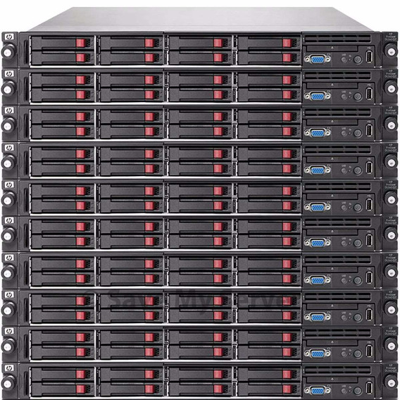 Hp Dl360 G7 Quad Core E5620 2,4 Ghz 2 Hds 146 Gb 16 Gb Ram