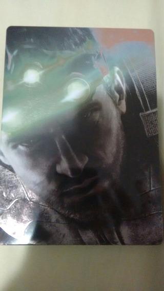 Splinter Cell Blacklist Sem Steelbook Metal Novo