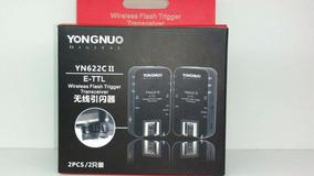 Radio Flash Trigger Yongnuo Yn622c Ii Ttl E-ttl Câmera Canon