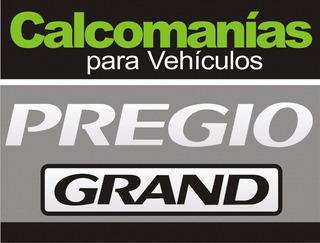 Calcomania Pregio Grand Gs Kit Completo