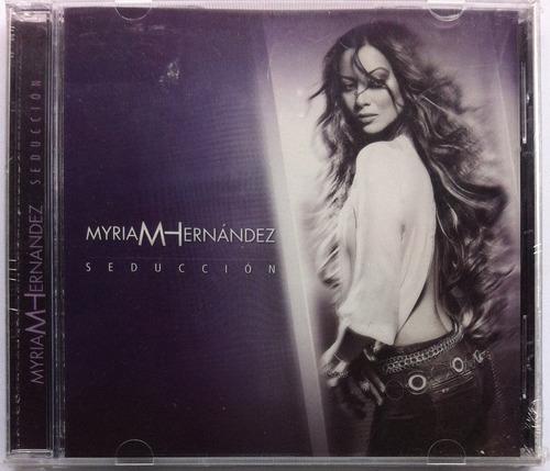 Myriam Hernández. Seducción. Cd Original, Nuevo