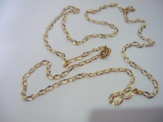 Correntinha De Ouro 60cm 3g 18k Mbb 2x4