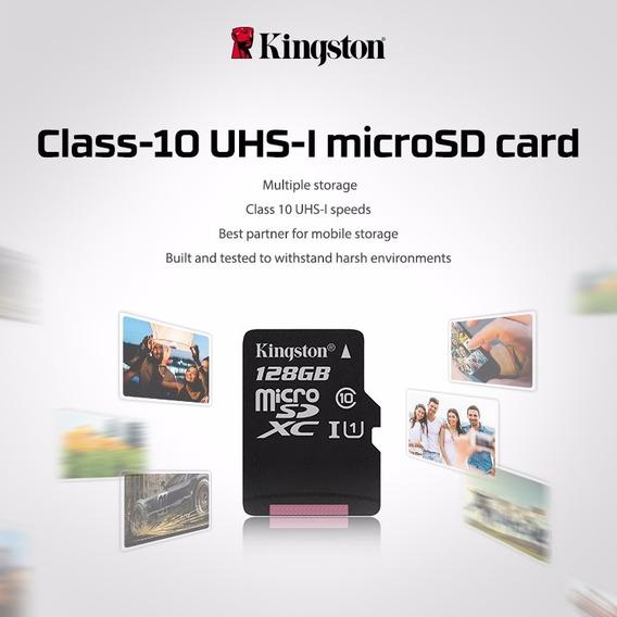 Cartão De Memória 32 Gb Micro Sd Kingston Classe 10