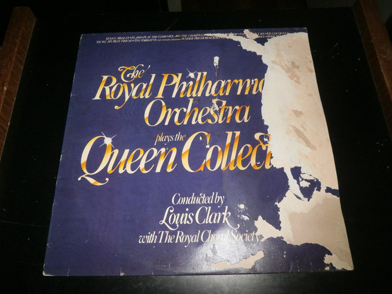 Lp Royal Philharmonic Orchestra - Queen Collection, Ano 1982