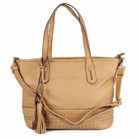 Bolsa Couro Ecológico Importada Original Starbag B1055 Caqui