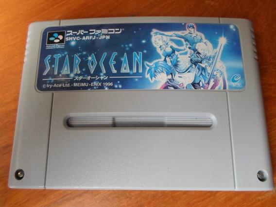 Star Ocean Rpg Original Para Snes Super Famicom