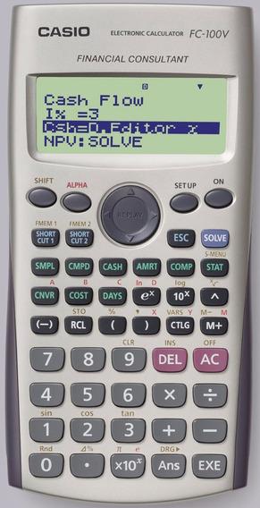 Calculadora Casio Modelo Fc 100 V Consultora Financiera
