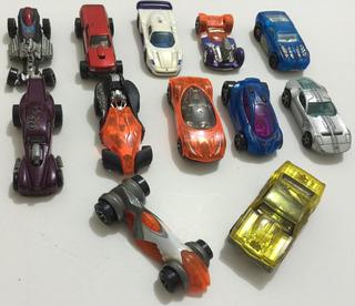 Lote Com 12 Carrinhos Miniaturas