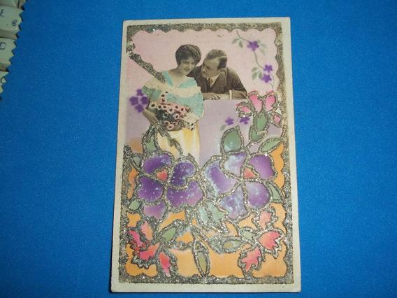 Tarjeta Postal Italiana Decada Del 30 P/coleccionistas.-