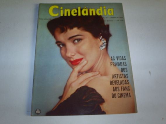 Revista Cinelandia Nº 87 06/56 Julie Adams