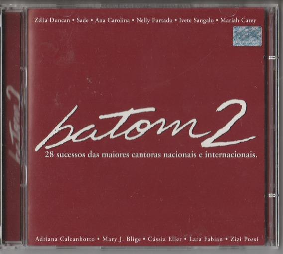 Cd Batom 2 - 28 Sucessos Cantoras Nacionais E Internacionais