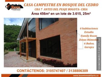 **casa Campestre Bosque Del Cedro