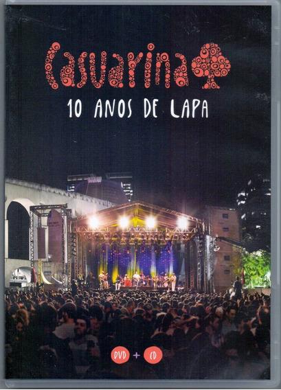 Dvd + Cd Casuarina - 10 Anos De Lapa - Novo***
