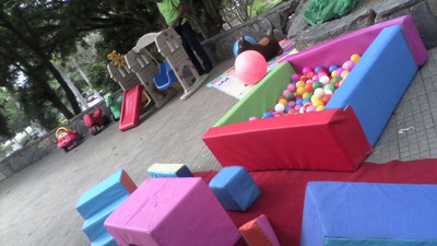 Parque Little Piscina De Pelota Carritos Baby Gym Colchón