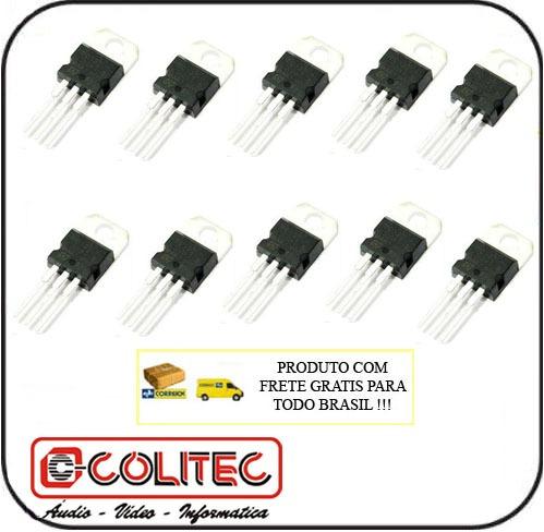 Lote Com 10 Unidades De Transistor Tip 122