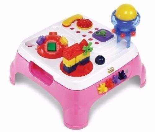 Mesa Infantil Maxi Atividades Rosa Magic Toys