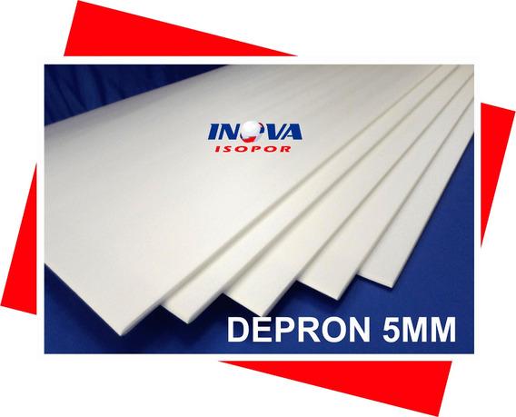 12 Placas Depron 5mm 100cmx68cm Para Aeromodelismo