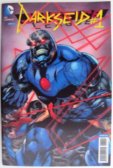 Justice League 1 Darkseid Portada 3d Mes De Villanos