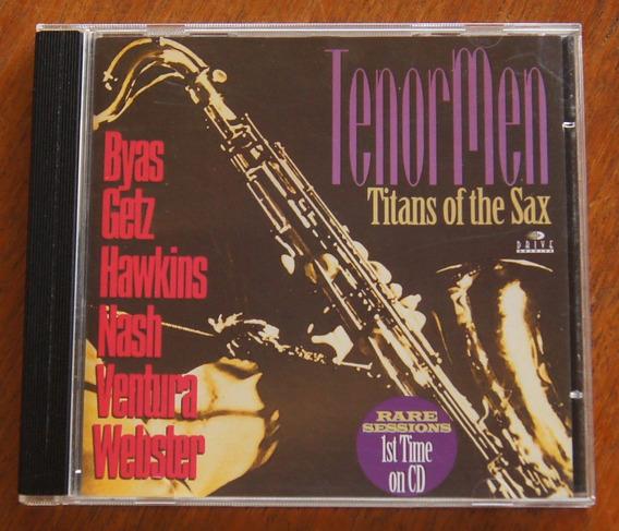 Cd Tenor Men - Titans Os The Sax