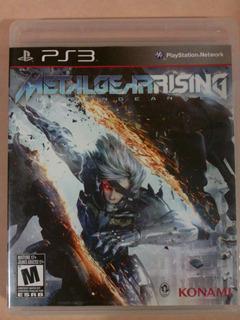 Metal Gear Rising Revengeance - Ps3 - Game Freaks
